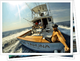 Big Tahuna is the most famous offshore charter fishing boat in Cape Hatteras with the best success ratio.