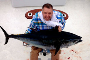 Call us and tie into one of our giant bluefin tuna off Hatteras.